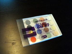 Cartela de culori pentru chit rosturi, mostrar, paletar Ambalaje Plastic | Ambalaje Din Plastic