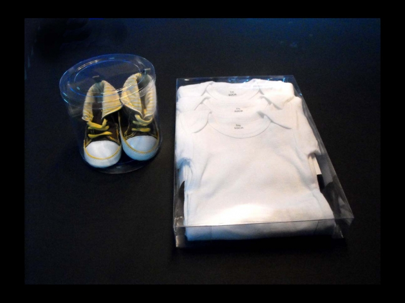 Baby clothes packaging