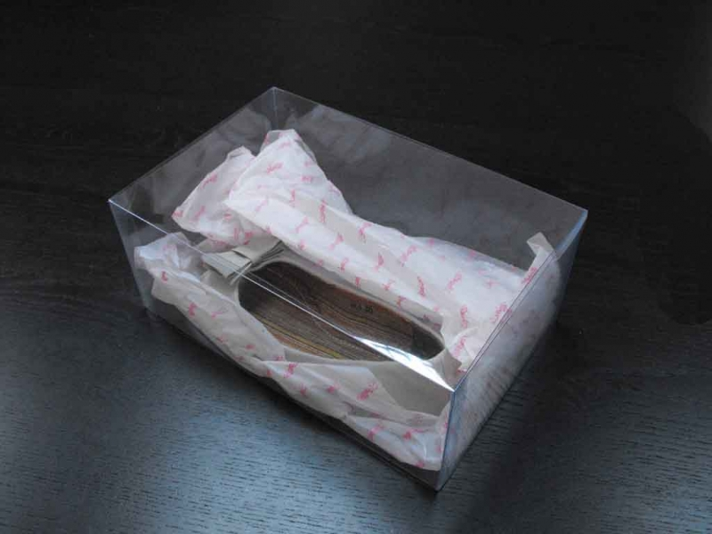 plastic packaging box for shoes