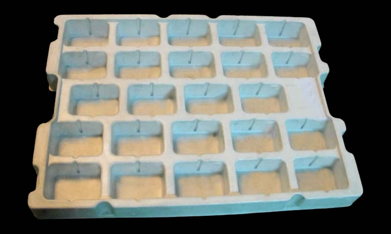 Custom thermoformed plastic trays