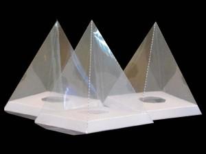 Cutii in forma de piramida Ambalaje Plastic | Ambalaje Din Plastic
