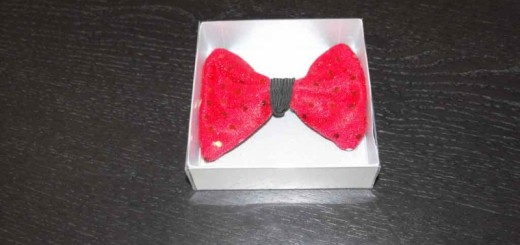 bow tie packaging box