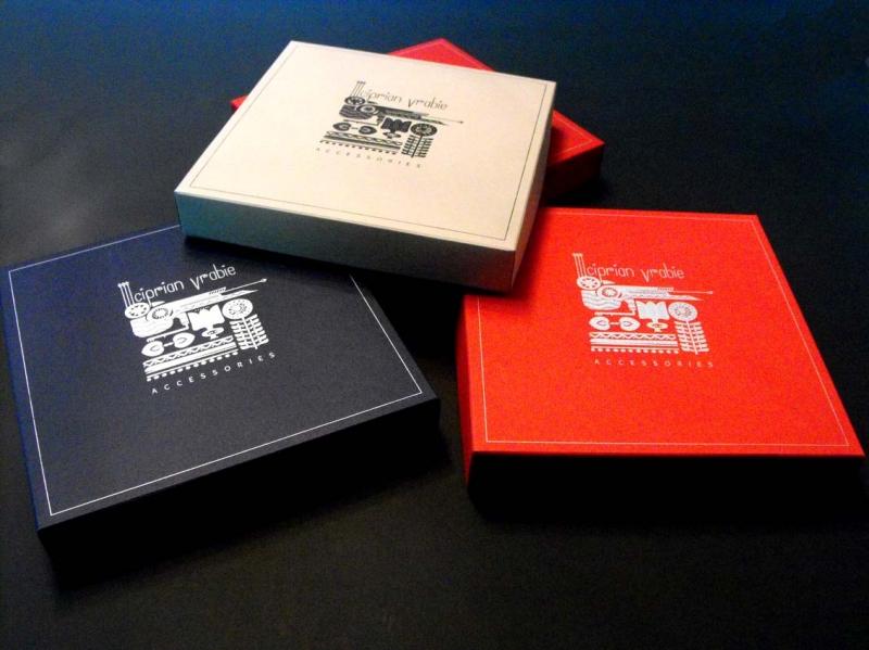 hot foil stamped paper box