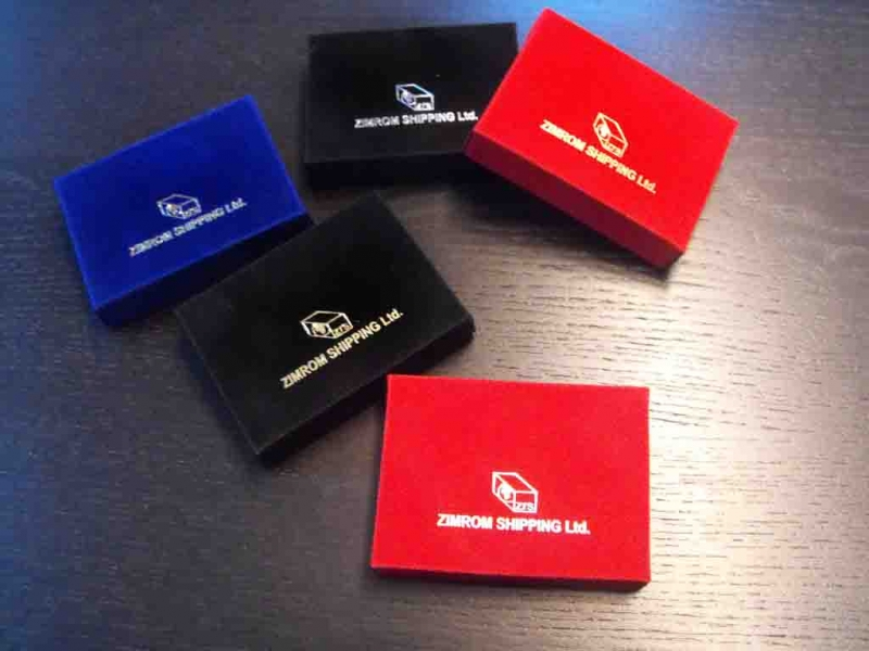 custom foil stamped box