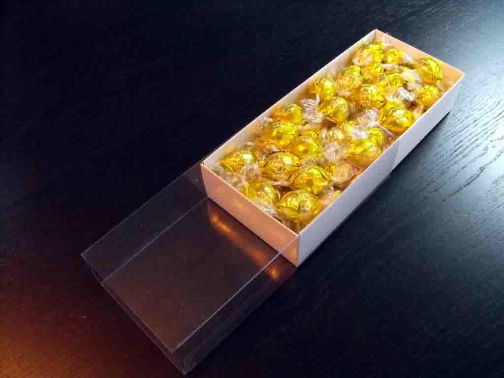 553 - Cutie MAcarons Confituria 2 randuri 243x52x47 bomboane heidi, cutii cu capac