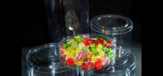 Cilindri plastic pentru bomboane vrac Ambalaje Plastic | Ambalaje Din Plastic