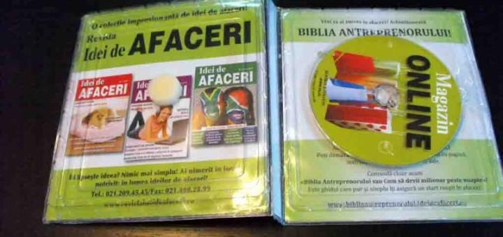 Ambalaje plastic pentru carte cu blister cd-uri