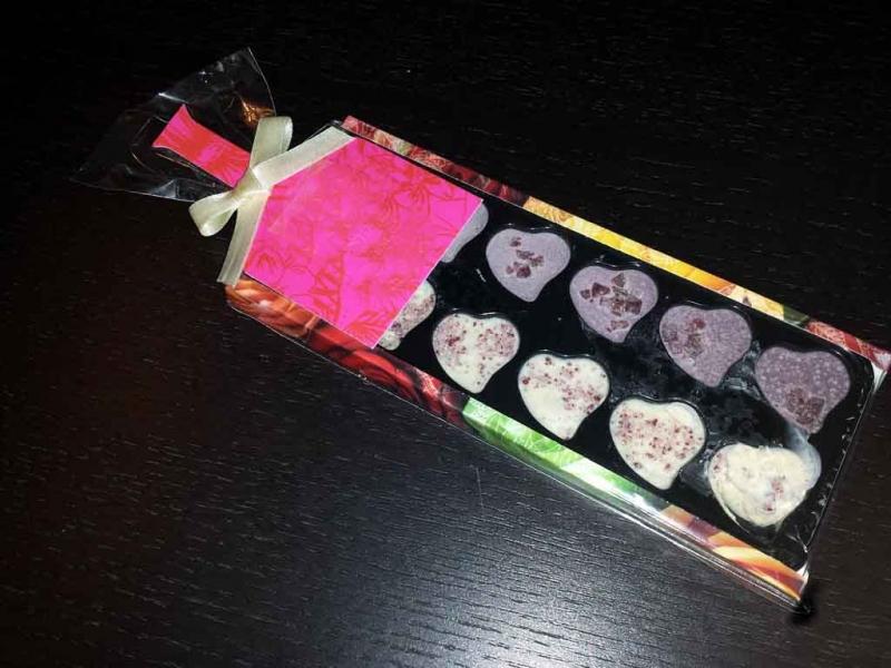 Ambalaje turnat ciocolata inimioare