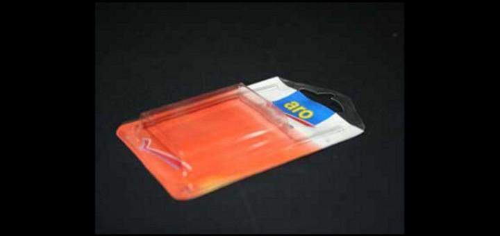 Blistere plastic esente