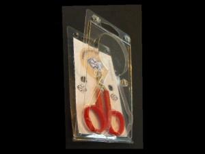 Scissors blister packing