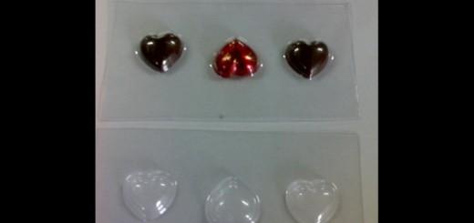 Forme turnat ciocolata model inimioare Ambalaje Plastic | Ambalaje Din Plastic