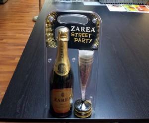 Champagne blister tray pack Ambalaje Plastic | Ambalaje Din Plastic