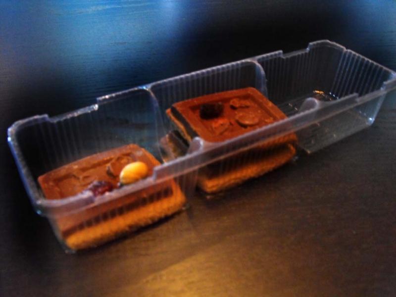 Caserole plastic biscuiti cu trei compartimente