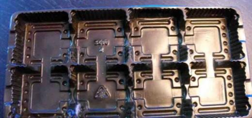 Caserole din plastic pentru biscuiti cu 8 alveole Ambalaje Plastic   Ambalaje Din Plastic