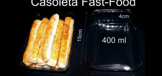 Caserole din plastic fast-food Ambalaje Plastic | Ambalaje Din Plastic