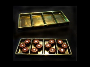 Chocolate praline tray