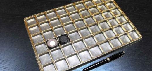 Chese aurii pentru 54 praline Ambalaje Plastic   Ambalaje Din Plastic