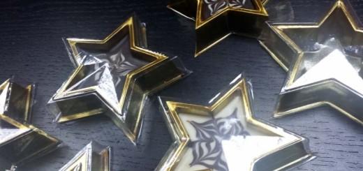 Chese forma de stea mica pentru ciocolata