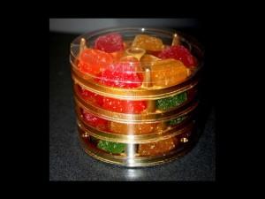 Plastic jelly tray box