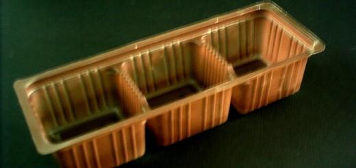 Chese plastic pentru biscuiti cu 3 compartimente Ambalaje Plastic | Ambalaje Din Plastic