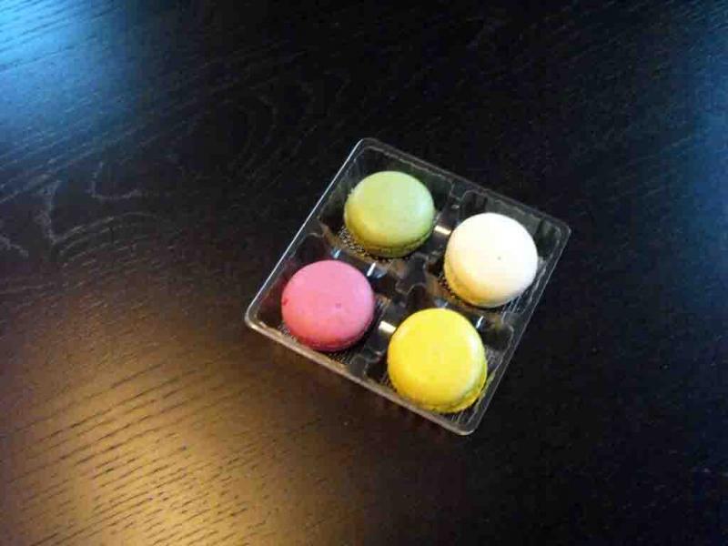 Chese plastic 4 Macarons, chesa Minimacarons