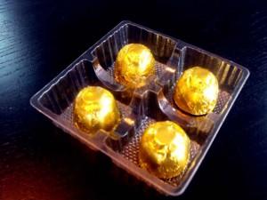 Chocolate praline box with plastic tray Ambalaje Plastic | Ambalaje Din Plastic