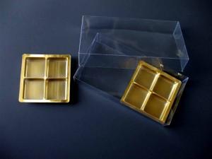Plastic gold tray chocolate tablets Ambalaje Plastic | Ambalaje Din Plastic