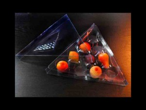 Marzipan plastic trays