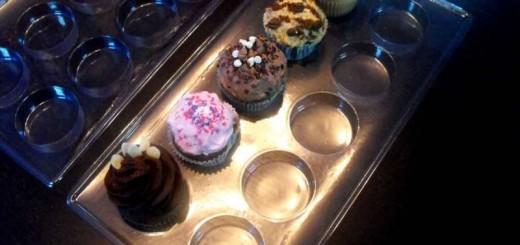 Chese plastic transparent pentru prajituri, cupcakes Ambalaje Plastic | Ambalaje Din Plastic