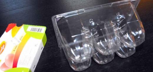 Cofraje 6 oua XL de gaina Ambalaje Plastic | Ambalaje Din Plastic