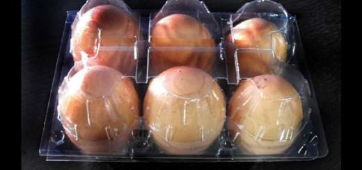 Cofraje pentru 6 oua de gaina Ambalaje Plastic | Ambalaje Din Plastic