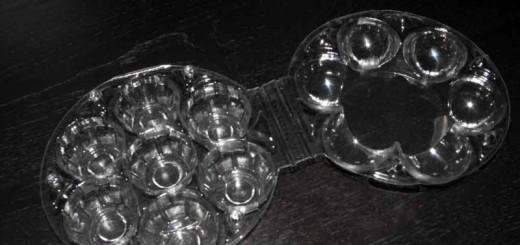 Cofraje 7 oua XL de gaina Ambalaje Plastic | Ambalaje Din Plastic