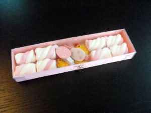 Marshmallow custom box