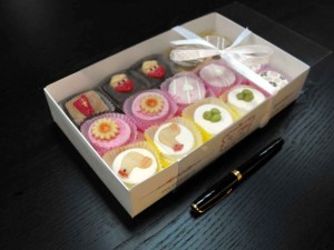 Petit fours packaging box
