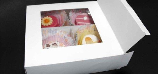 Cutii carton 4 petits fours