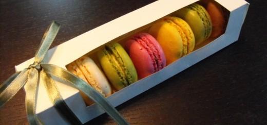 Ambalaje Macarons, Cutii din carton 7 Macarons, Minimacarons