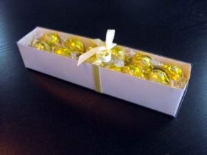 Candy white box