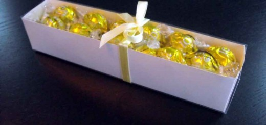 Cutii carton alb bomboane