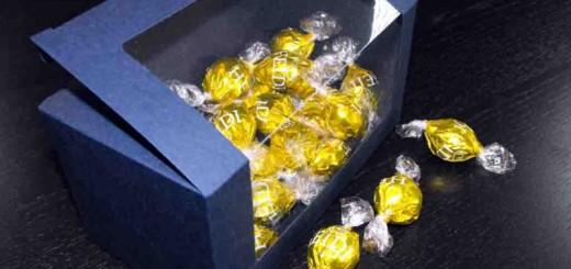 Cutii carton albastru bomboane Ambalaje Plastic | Ambalaje Din Plastic