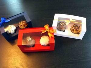 2 cupcakes window box