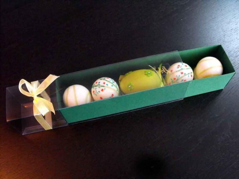 Cutii carton colorat figurine Marshmallow