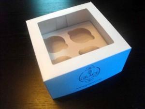 4 muffins box