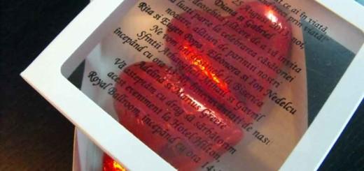 Cutii carton cu fereastra marturii de nunta Ambalaje Plastic | Ambalaje Din Plastic