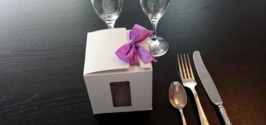 Cutii carton cu fereastra marturii nunta Ambalaje Plastic | Ambalaje Din Plastic