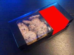Paper boxes for cookies