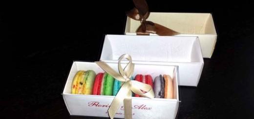 Cutie din carton Macarons pentru marturii nunta Ambalaje Plastic | Ambalaje Din Plastic