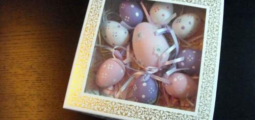 Cutii carton oua din ciocolata