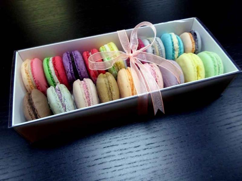 Cutii din carton pentru 18 Macarons