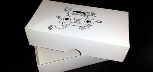 Wedding favors box paper screen printing Ambalaje Plastic | Ambalaje Din Plastic