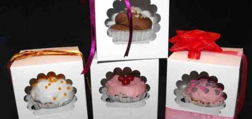 Cutii carton cupcakes